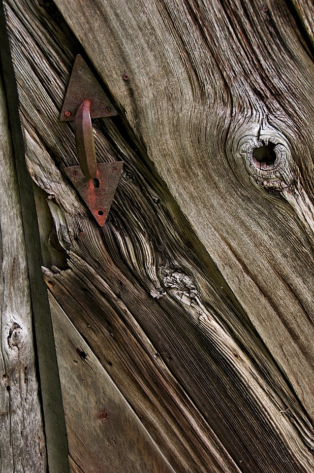 I - Old door at Greenwood Gardens, NJ